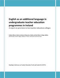 English as an additional language in undergraduate teacher education programmes in Ireland