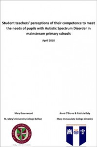 Download Student teachers' perceptions of their competence to meet the needs of pupils with Autistic Spectrum Disorder in mainstream primary schools