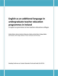 English as an additional language in undergraduate teacher education programmes in Ireland